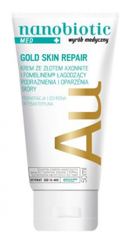 Nanobiotic Gold Skin Repair 50 ml